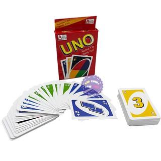 Bài Uno 108 lá bằng giấy cứng
