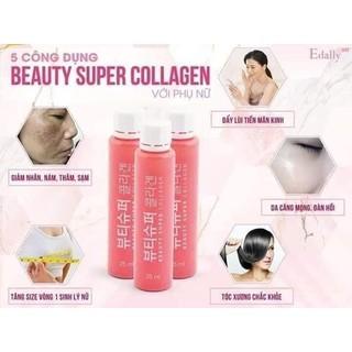 Nước uống Collagen thủy phân Edally BH( hộp 10 lọ) thumbnail