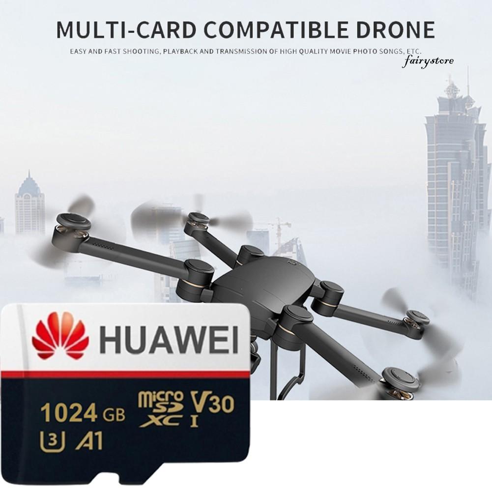 Thẻ Nhớ Điện Tử Fs + Hua Wei 512g / 1t U3 Tf Cho Điện Thoại, Máy Tính Bảng