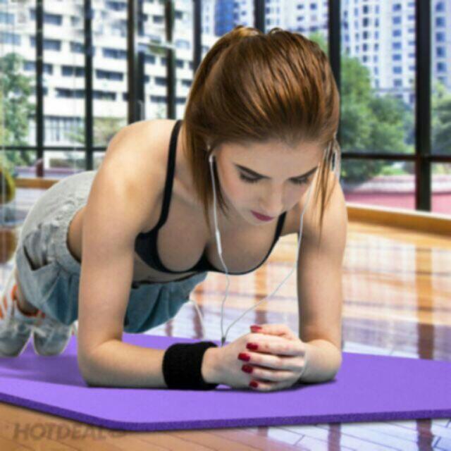 Thảm tập Yoga siêu bền 10mm Việt Nam tặng túi - 2723043 , 232352551 , 322_232352551 , 180000 , Tham-tap-Yoga-sieu-ben-10mm-Viet-Nam-tang-tui-322_232352551 , shopee.vn , Thảm tập Yoga siêu bền 10mm Việt Nam tặng túi