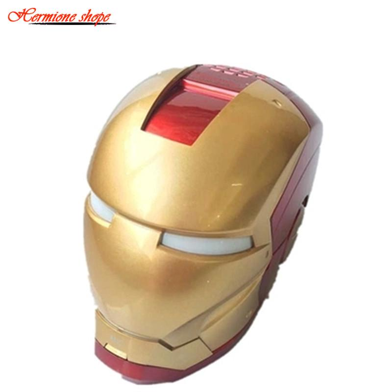 Iron Man Mini Wireless Bluetooth Speaker
