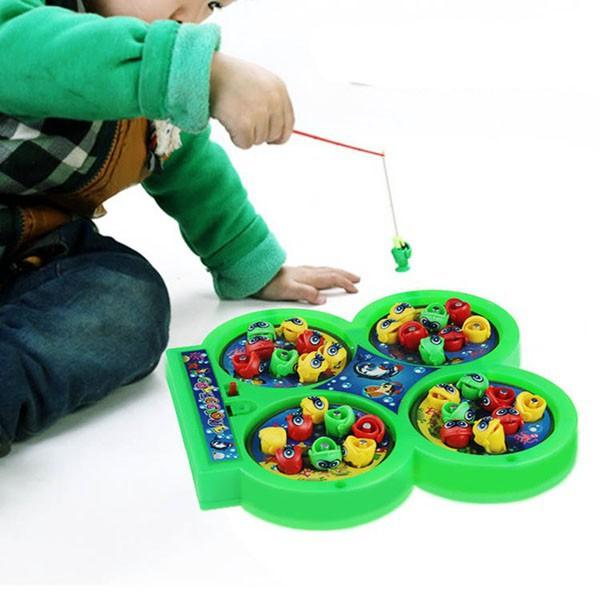 [ GIÁ SOCK ] Bộ đồ chơi câu cá 4 hồ