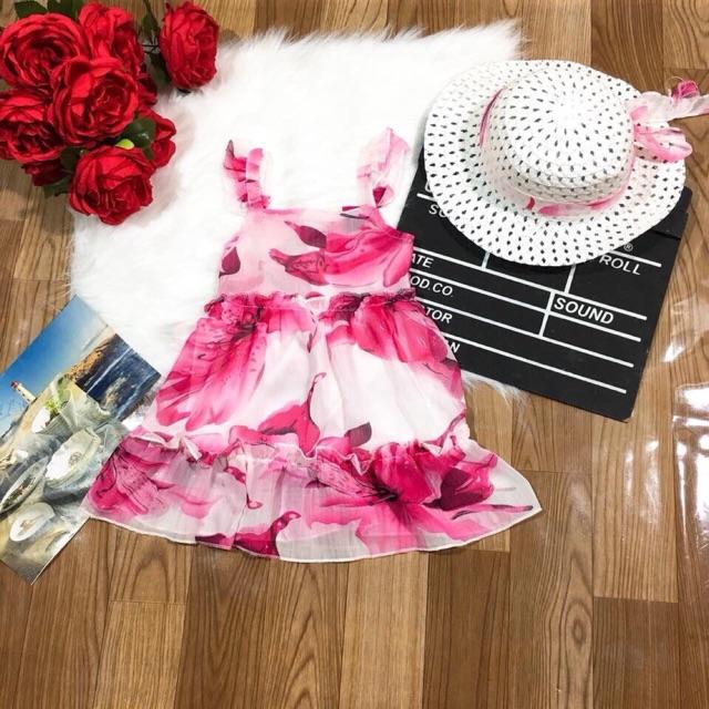 Set váy bé gái