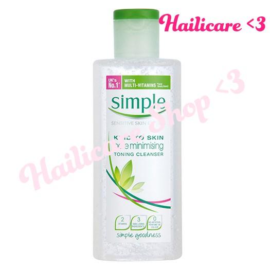 [Hàng Anh] Nước hoa hồng se khít lỗ chân lông Simple Kind To Skin Pore Minimising Toning Cleanser 20 - 2500703 , 502608206 , 322_502608206 , 191000 , Hang-Anh-Nuoc-hoa-hong-se-khit-lo-chan-long-Simple-Kind-To-Skin-Pore-Minimising-Toning-Cleanser-20-322_502608206 , shopee.vn , [Hàng Anh] Nước hoa hồng se khít lỗ chân lông Simple Kind To Skin Pore Minim