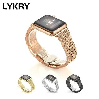 Dây Đeo Thay Thế LYKRY Cho Apple Watch 38mm 40mm 42mm 44mm thumbnail