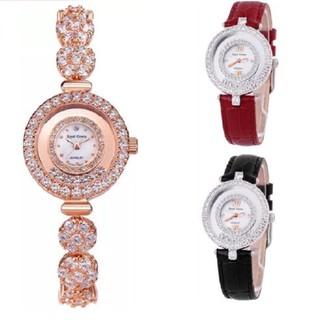 Đồng Hồ Nữ Chính Hãng Royal Crown 5308J-RG (vỏ vàng hồng) kèm đồng hồ tự chọn thumbnail