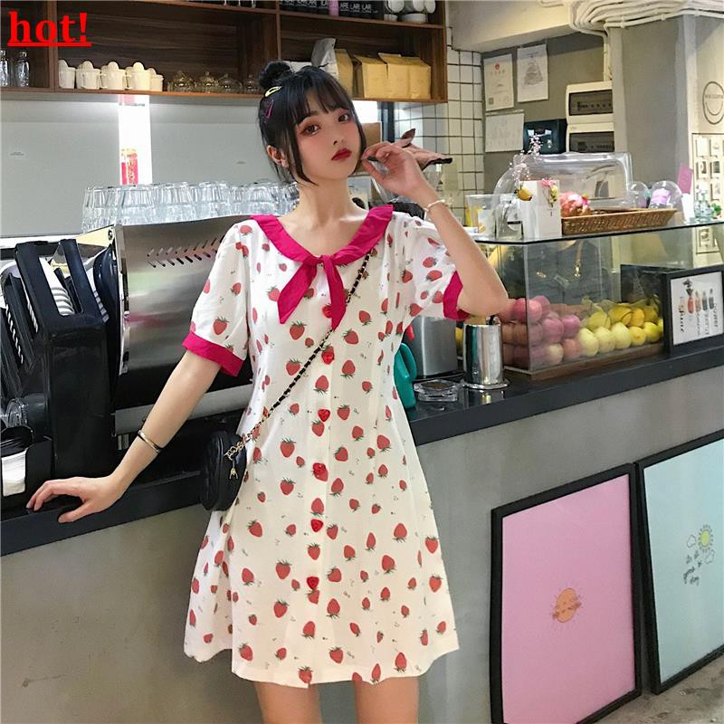 2019 summer new Korean version of the small fresh and lovely sweet thin stitchin