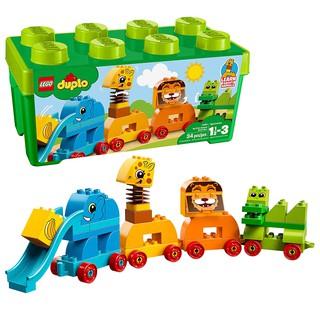 LEGO Duplo 10863 Đồ Chơi Xếp Hình Lắp Ráp Động Vật Đầu Tiên Của Bé (34 Chi Tiết)