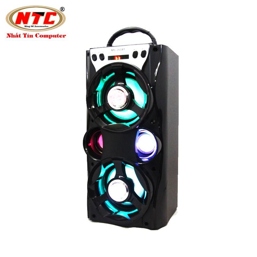 Loa bluetooth Karaoke xách tay NTC MS-261BT có đèn led - Công suất 12W (Màu ngẫu nhiên) - 2567728 , 945701760 , 322_945701760 , 399000 , Loa-bluetooth-Karaoke-xach-tay-NTC-MS-261BT-co-den-led-Cong-suat-12W-Mau-ngau-nhien-322_945701760 , shopee.vn , Loa bluetooth Karaoke xách tay NTC MS-261BT có đèn led - Công suất 12W (Màu ngẫu nhiên)