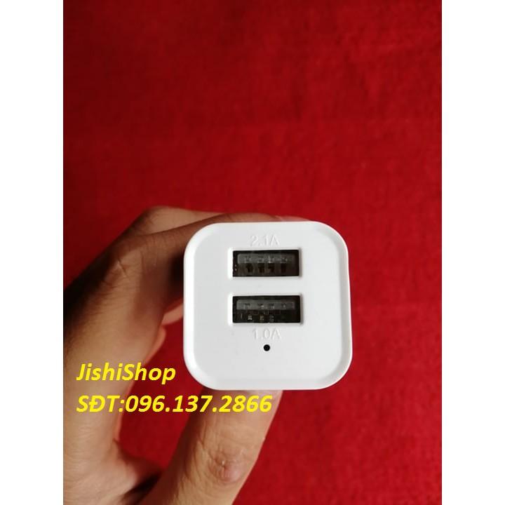 Tẩu sạc ô tô 2 cổng  nguồn điện 24V dùng cho điện thoại