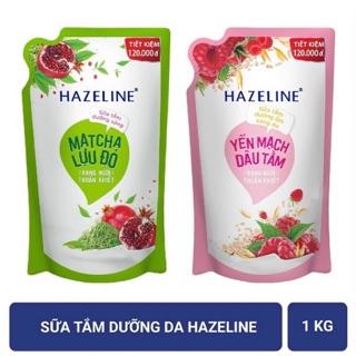Sữa tắm dưỡng da Hazeline 1kg(túi)