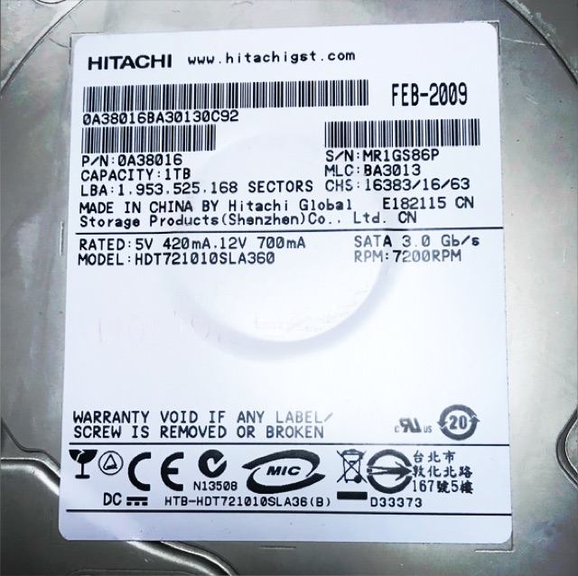 Ổ cứng PC HDD 1T