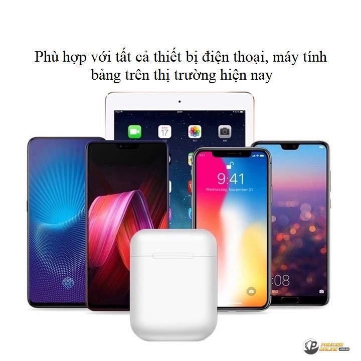 [Rẻ Vô Địch] Tai Nghe Không Dây Bluetooth I11 - TWS 5.0 Cảm Ứng Nhạy, Âm Thanh Hay, Giá Cực Tốt