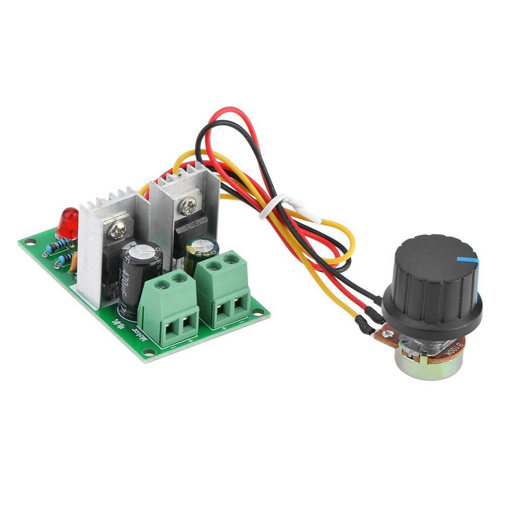 ❤Fadeble❤PWM DC Motor Speed Controller 12V-24V-36V One-Way Stepless Speed Governor