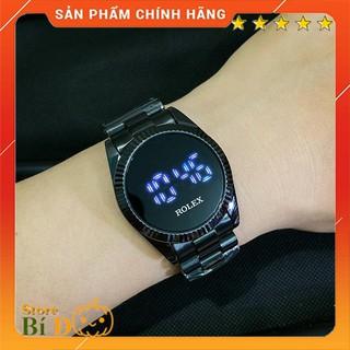 Đồng hồ nam ROLEX OYSTER PEREPTUAL mặt cảm ứng size 32mm dây đúc hợp kim NGUYÊN KHỐI CHỐNG NƯỚC - BẢO HÀNH 12 THÁNG thumbnail