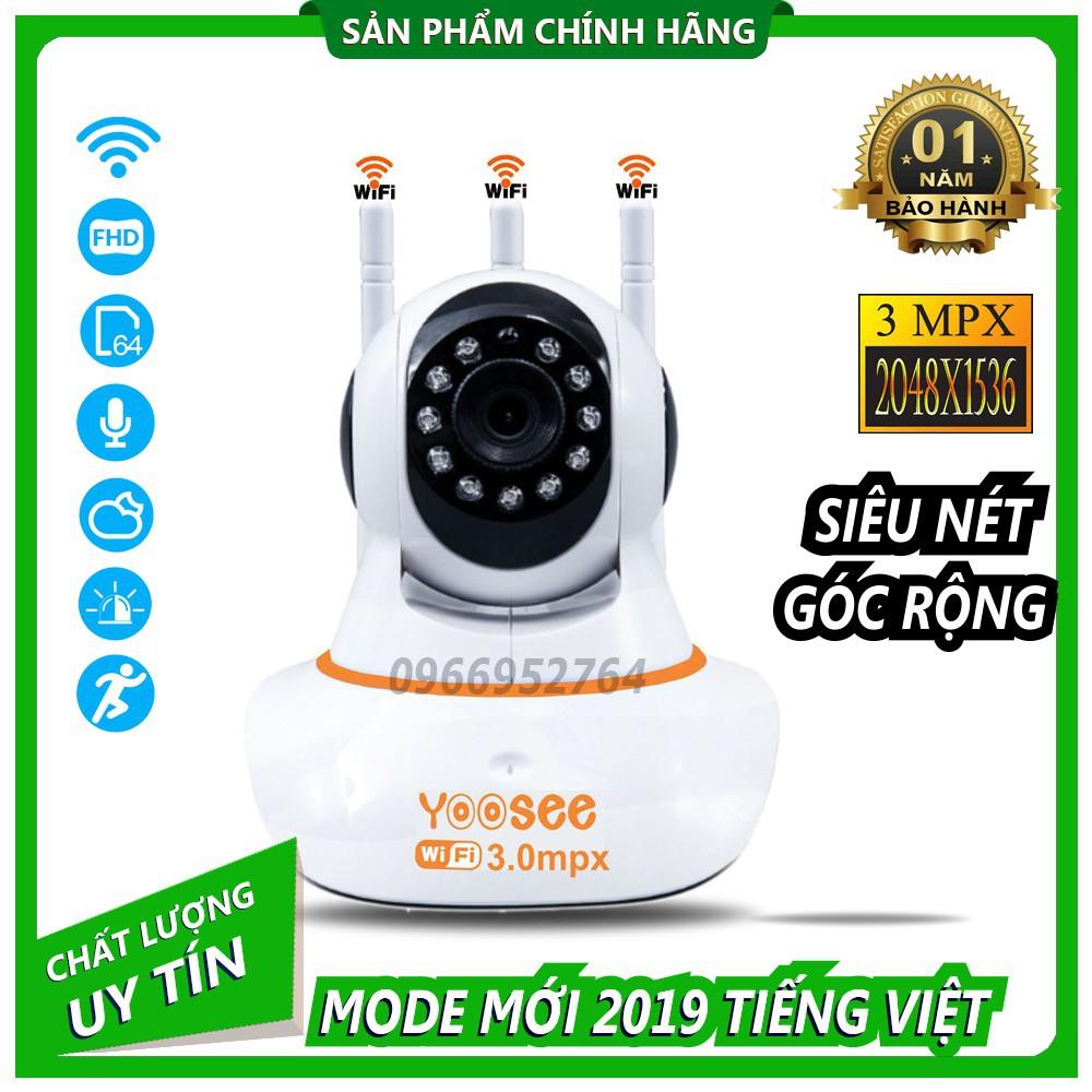 Camera Ip YooSee 3.0mpx Ultra HD Tiếng Việt Mới Nhất 2019