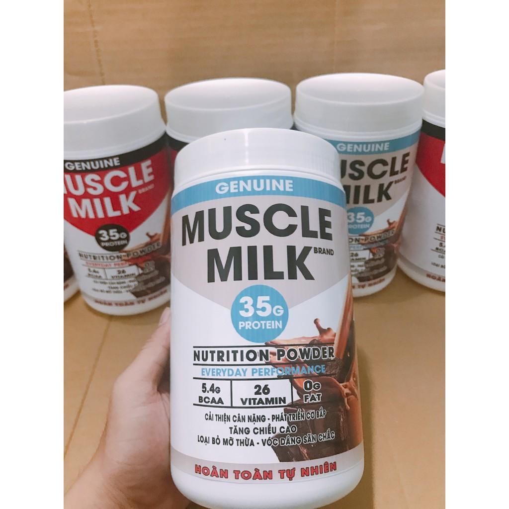 1kg Bột sữa Tăng Cân, tăng cơ cao cấp Muscle Milk