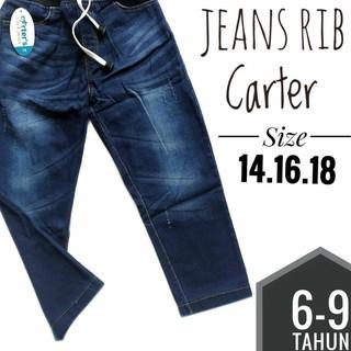 Quần Jeans Dài Thời Trang Cho Bé Từ 6-9 Tuổi
