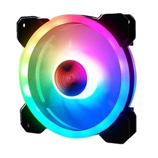 Quạt Tản Nhiệt, Fan Led RGB Dùng Cho PC - Fan Case siêu đẹp - Có bán kèm hub và điểu khiển thumbnail