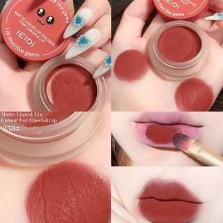 Lip mud lipstick velvet matte matte air lip glaze whitening to easy and not fade B2C7