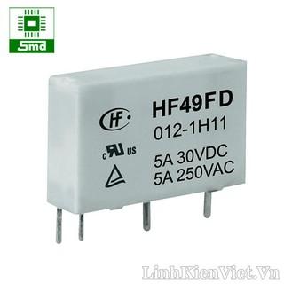 Thiết bị đóng ngắt Relay HF49F-012-1H1 (12VDC-5A250VAC)