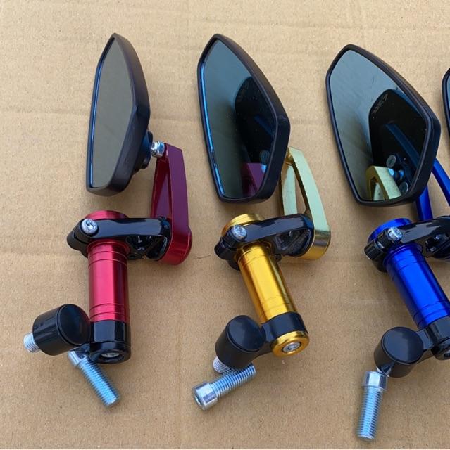 Gương gù CRG lắp chân gương xe máy.Nhôm CNC đủ màu.