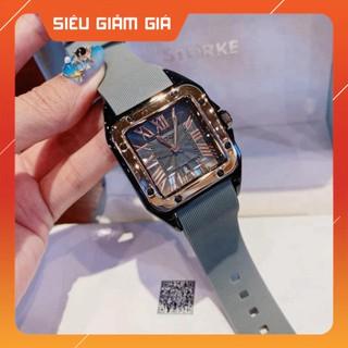 SIÊU PHÂM HOT Đồng hồ nữ G.u.o.u dây silicon mềm dẻo cực xinh thumbnail