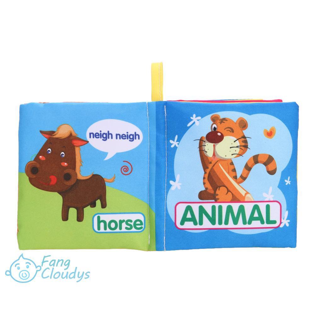 Sách đồ chơi bằng vải mềm siêu thú vị dành cho các bé