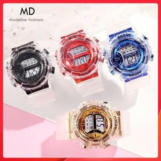 Đồng hồ điện tử nam nữ WR30 thể thao, dây trong suốt cực đẹp, kiểu mới nhất năm, full chức năng ( Mã WR301 ) thumbnail