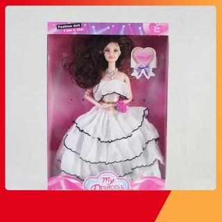 [KTKA] Búp bê công chúa váy trắng đáng yêu BB111118