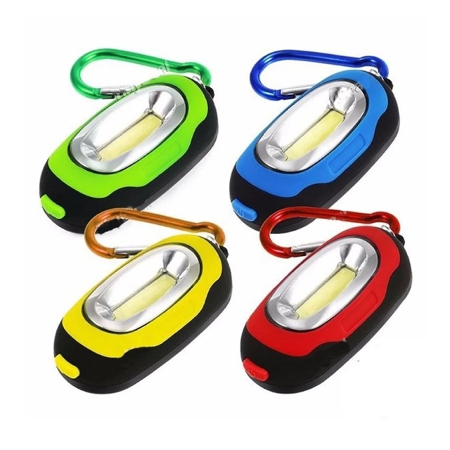 [SALE 10%] Móc khóa đèn LED siêu sáng 3 chế độ