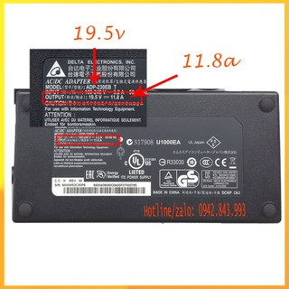 Sạc laptop MSI 19.5v 11.8a chân 4 lỗ thumbnail
