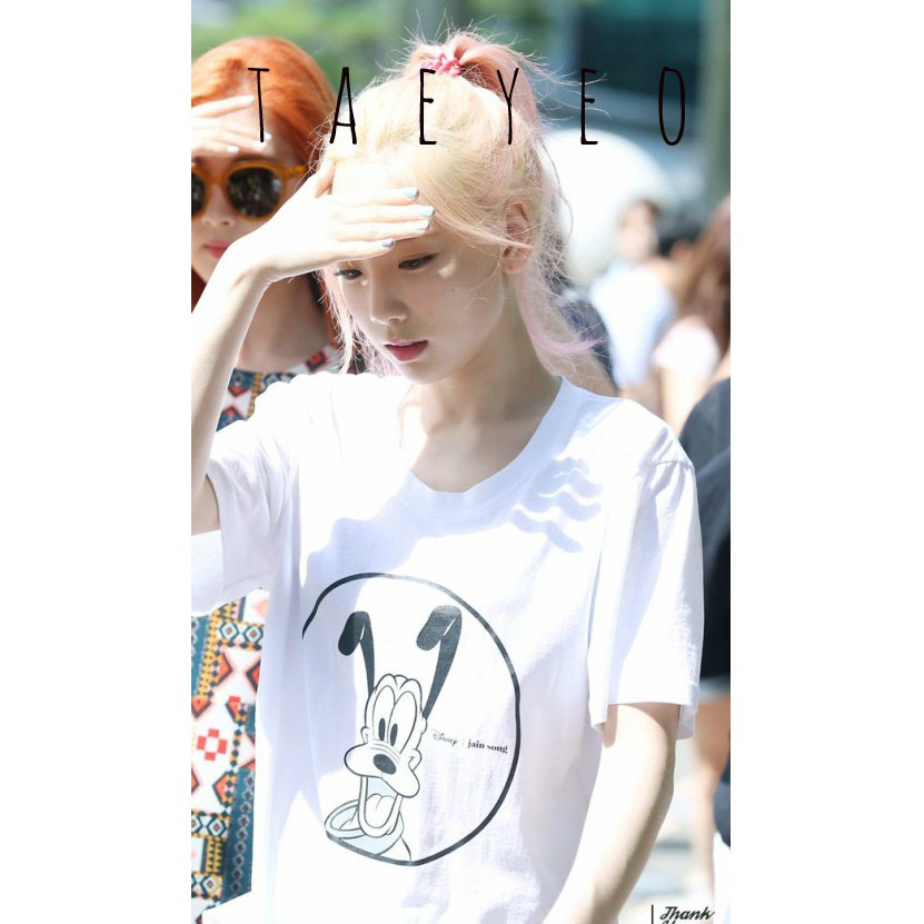 Áo thun nam nữ Kpop giống SNSD KIM TAEYEON