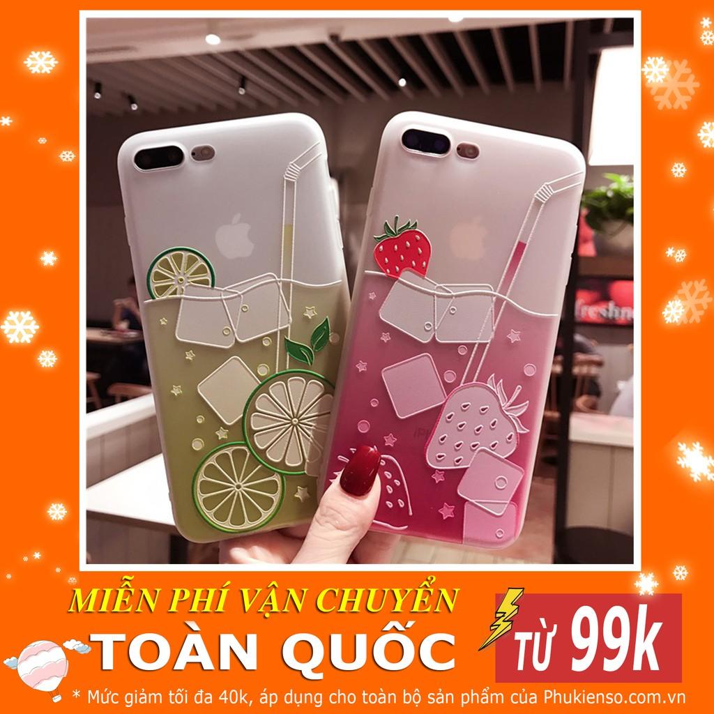 Ốp Hoa Quả Leo Silicon Dẻo - Dành Cho Iphone 6/6s/7/8/Plus