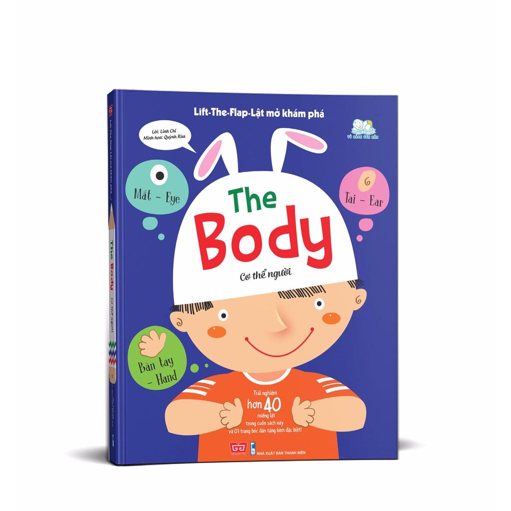 Sách - Lật mở khám phá - The Body - Cơ thể người