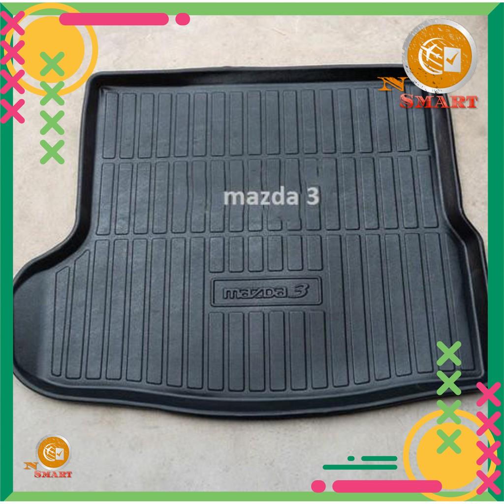 Mazda 3 Lót Cốp Nhựa Dẻo Không Mùi Theo Xe Đời 2015 2016 2017 2018  2019 2020 sedan Na No Smart Uy Tín Chất Lượng