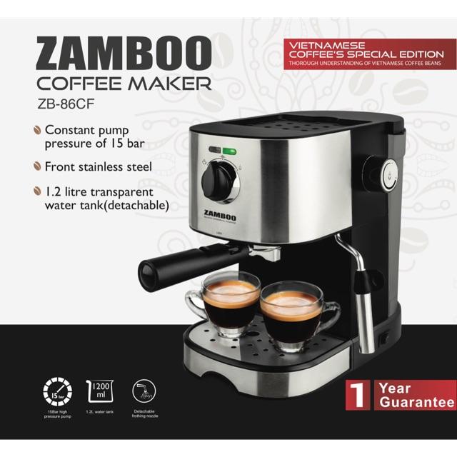 Máy pha cà phê Espresso Zamboo ZB-86CF