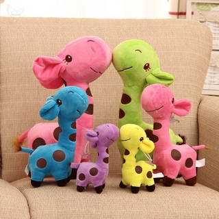[dueplay] Plush Giraffe Soft Toys Animal Dear Doll Baby Kids Children Birthday Gift 1pcs