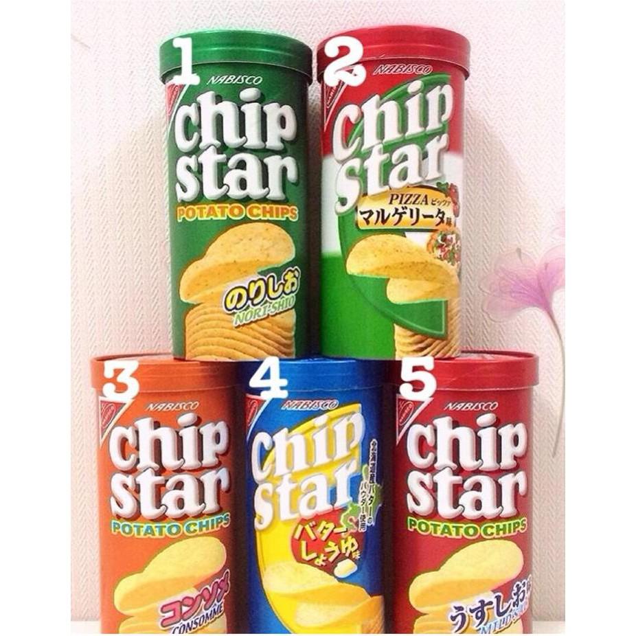 Khoai tây Nhật ăn dặm Chip Star 50g - SNACK