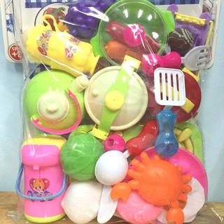 Bộ đồ chơi túi làm bếp đủ loại, loại đẹp, chất lượng