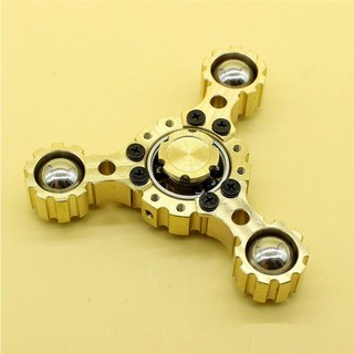 YYSteel Ball Gear Hand Spinner ADHD Autism Fingertips Fingers Gyro Reduce Stress