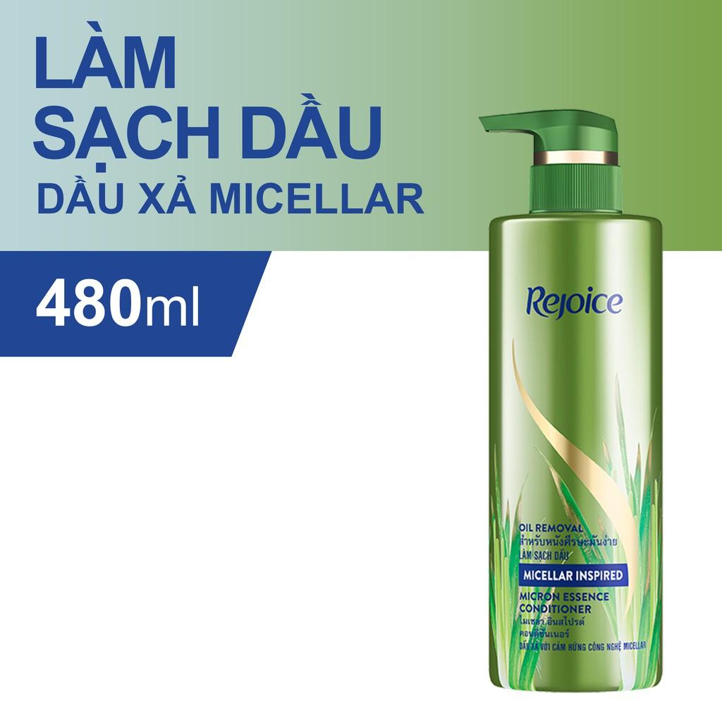 Dầu xả Rejoice Micellar - Làm sạch dầu 480ml