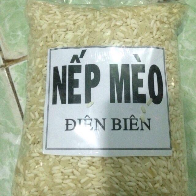 1kg gạo nếp nương Điện Biên - gạo nếp mèo Điện Biên