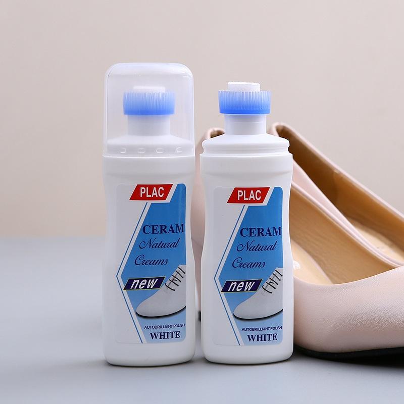 [VIDEO REVIEW] Chai tẩy trắng tất cả các loại giày dép túi xách Plac - Chai tẩy giày đầu bàn chải