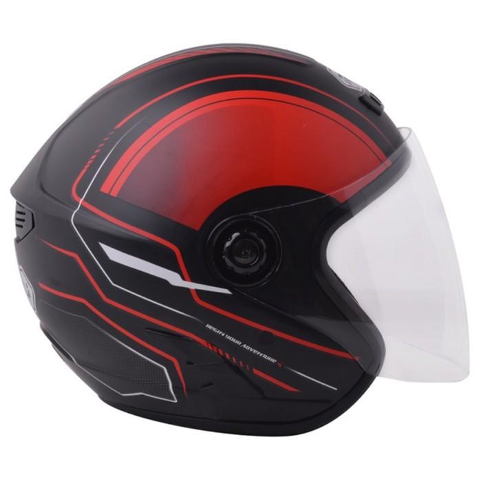 [CRC Helmet]Mũ  bảo hiểm Phượt  NAPOLI Model 2018 - Bảo hành 12 tháng
