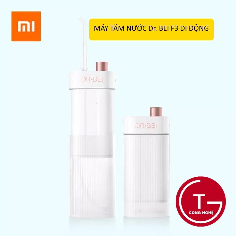 Máy tăm nước Xiaomi DR-BEI F3 nhỏ gọn di động 180ml ,Máy tăm nước xịt vệ sinh răng miệng Xiaomi DR-BEI F3 với 3 cấp độ