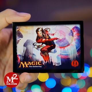 01 cái bọc bài Standard size Wizards – 66 x 91 mm – dùng cho thẻ bài pokemon hoặc yugioh