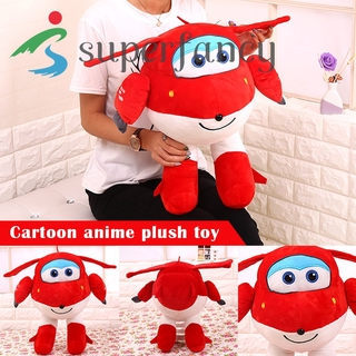 ready stock Super Wings Plush Toy Jett Dizzy Little Flying Hero Dolls Gift for Kids