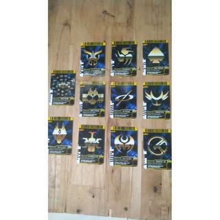 Thẻ Final Atack Kamen Rider bán lẻ: Hibiki,Kuuga,All rider Decade,Decade,Kabuto,Ryuki,Blade,Faiz,Agito,Kiva,Den-O
