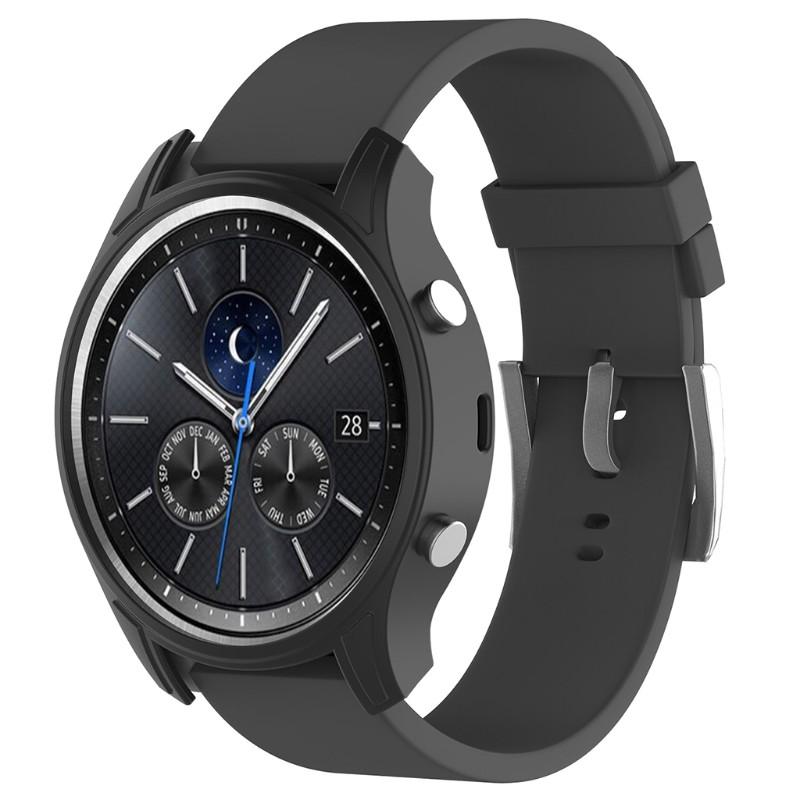 Khung silicon bọc ngoài màn hình đồng hồ Samsung Galaxy Gear S3 Classic SM-R770 Sma